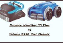 Dolphin Nautilus CC Plus vs Polaris 9550 Pool Cleaner