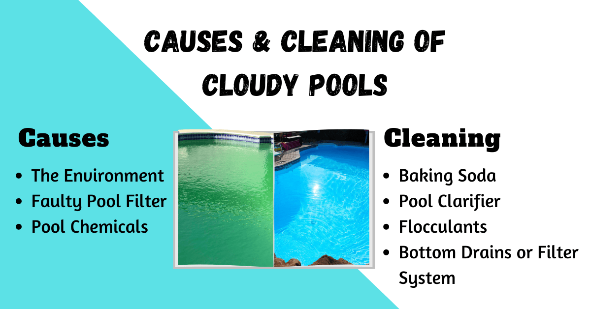 How To Clear a Cloudy Pool steps